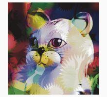 Comic Cat Kids Tee