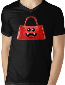 BAG BITES Mens V-Neck T-Shirt