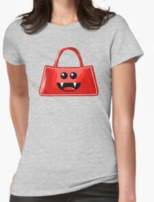 BAG BITES Womens Fitted T-Shirt
