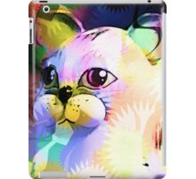 Comic Cat iPad Case/Skin