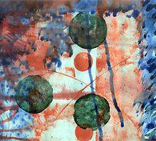 Three green dots by Maraia