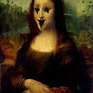 Haunted Mona Lisa by GrimDork
