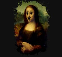 Haunted Mona Lisa Unisex T-Shirt