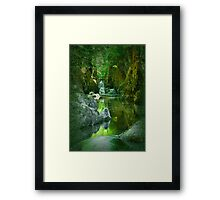The Fairy Glen , Betws-y-Coed Framed Print