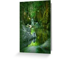 The Fairy Glen , Betws-y-Coed Greeting Card