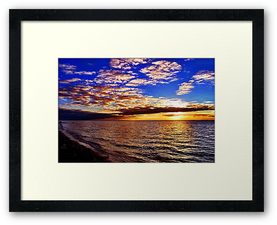 Sunset, Dromana by Natalie Cooper