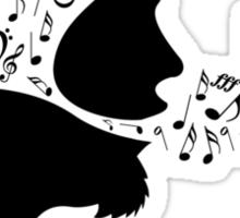 Singing Sticker
