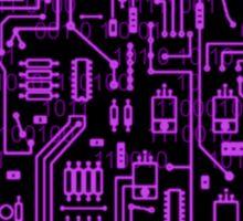 Cyber Circuits Sticker