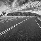 Road to the Rock - Uluru, NT by Liam Byrne