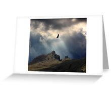And I Soar. Greeting Card