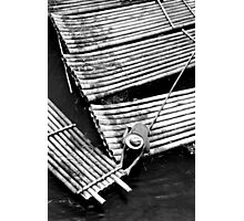Boatman Mono, Yangshuo, China Photographic Print
