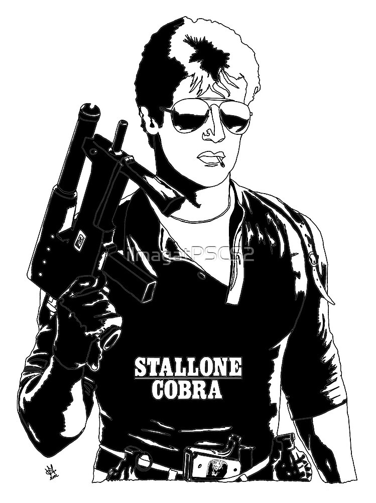 Sylvester Stallone as Cobra by ilmagatPSCS2
