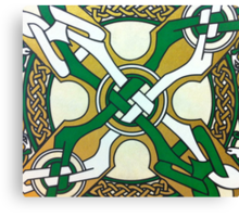 DAY 111 -  (365 DAY PROJECT - 'ONE DAY AT A TIME')  CELTIC DESIGN   Canvas Print