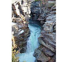 Athabasca Falls on Athabasca River Photographic Print