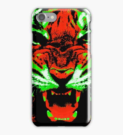 Pop Art Tiger iPhone Case/Skin
