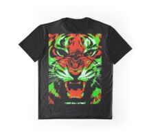 Pop Art Tiger Graphic T-Shirt