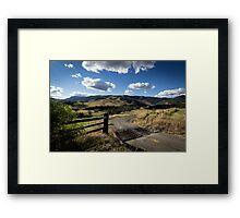 Bretti Reserve Framed Print