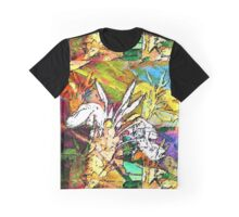 Boca Tropical Abstract Graphic T-Shirt