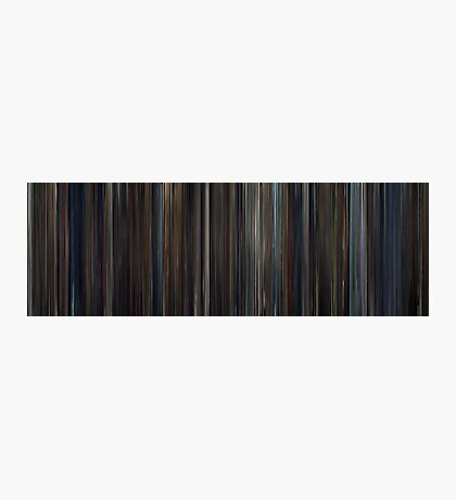 Moviebarcode: Hugo (2011) Photographic Print