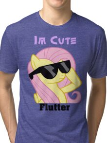 Fluttershy Shades T-Shirt Tri-blend T-Shirt