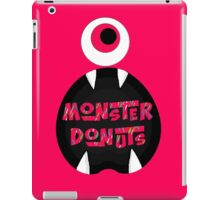 MoNsTeR DoNuTs CoLoR iPad Case/Skin
