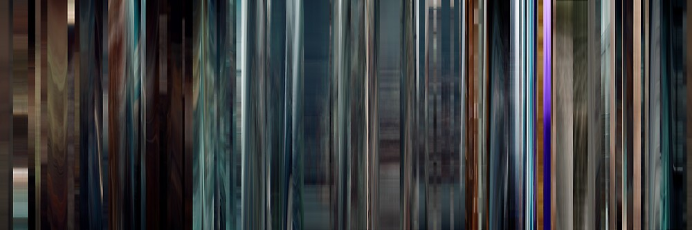 Moviebarcode: Sequence from Hugo (2011) by moviebarcode