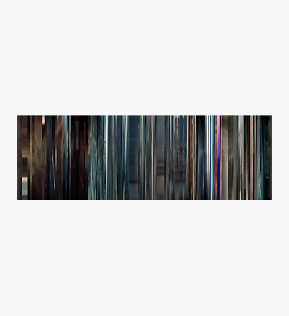 Moviebarcode: Sequence from Hugo (2011) Photographic Print
