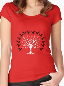 House Blackwood Tee Women's Fitted Scoop T-Shirt