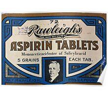 Aspirin 5 Grains Poster