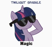 Twilight Sparkle Shades T-Shirt by Megavip