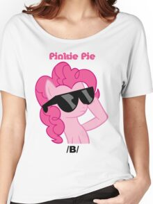 Pinkie Pie Shades /B/ T-Shirt Women's Relaxed Fit T-Shirt