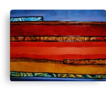 Earth Layers Canvas Print