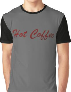 Hot Coffee Graphic T-Shirt