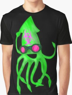 Nuclear Rave Squid Graphic T-Shirt