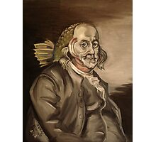 Ben Franklin (as a fish) Photographic Print