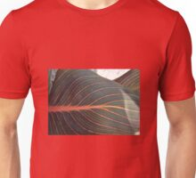 CORAL RED VEINS Unisex T-Shirt