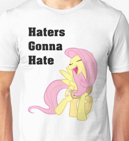 Fluttershy Haters Gonna Hate T-Shirt Unisex T-Shirt