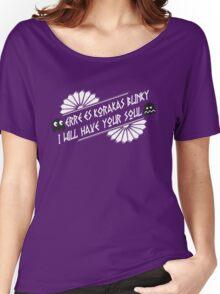 BLiNkY wHiTe Women's Relaxed Fit T-Shirt