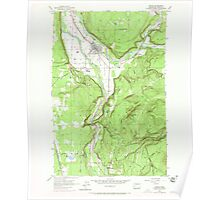 USGS Topo Map Washington State WA Orting 243004 1956 24000 Poster