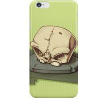 Bonehead 0009 iPhone Case/Skin