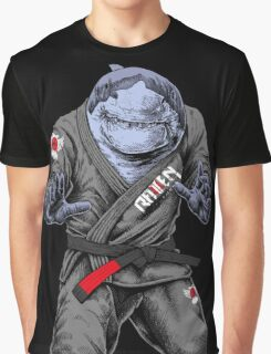 BJJ Shark Graphic T-Shirt