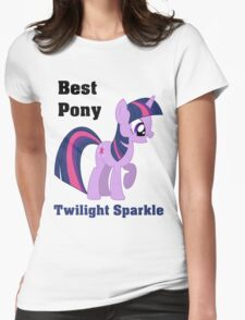 Twilight Sparkle Best Pony T-Shirt Womens Fitted T-Shirt