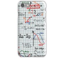 Mathematics Formulas Numbers  iPhone Case/Skin
