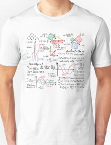Mathematics Formulas Numbers  T-Shirt