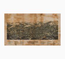 Panoramic Maps Torrington Conn1889 One Piece - Short Sleeve
