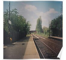 Whiston Station Poster