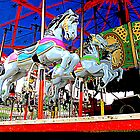 The Carousel Horsey's Secret by Jean Gregory  Evans