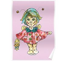 ladybird fairy Poster