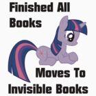 Twilight Sparkle Books T-Shirt by Megavip