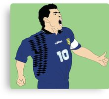 Maradona World Cup '94 Canvas Print